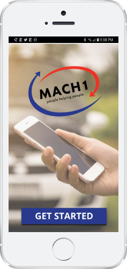 iphone with mach1 screenshot