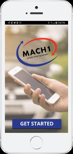 iphone with mach1 screenshot
